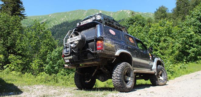 Трофи-экспедиция «Высокогорная Абхазия». Анонс