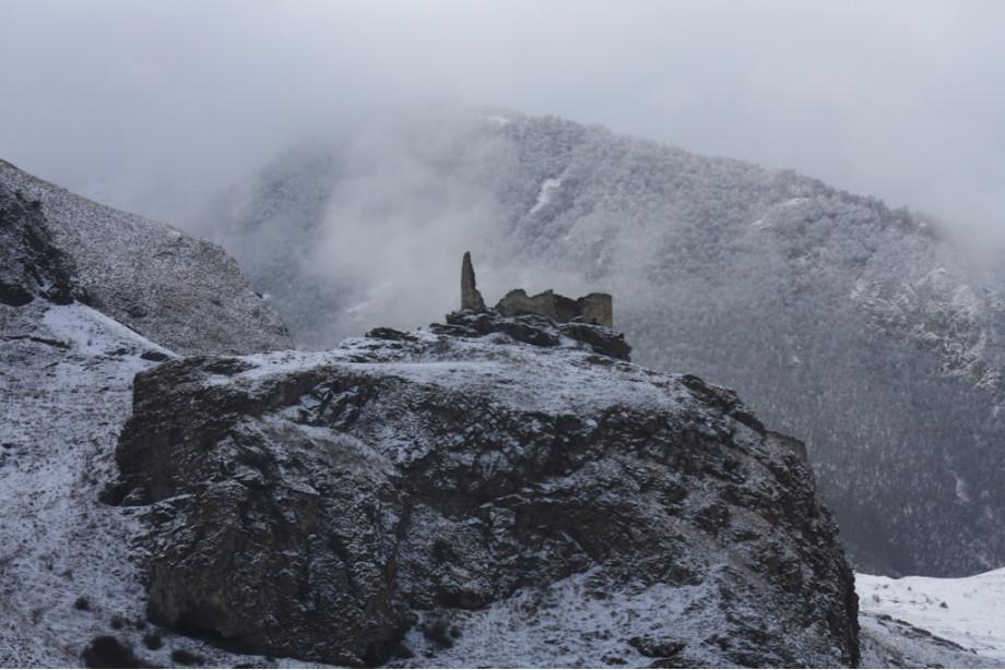Разрушенная во времена Тамерлана крепость Жабоевых