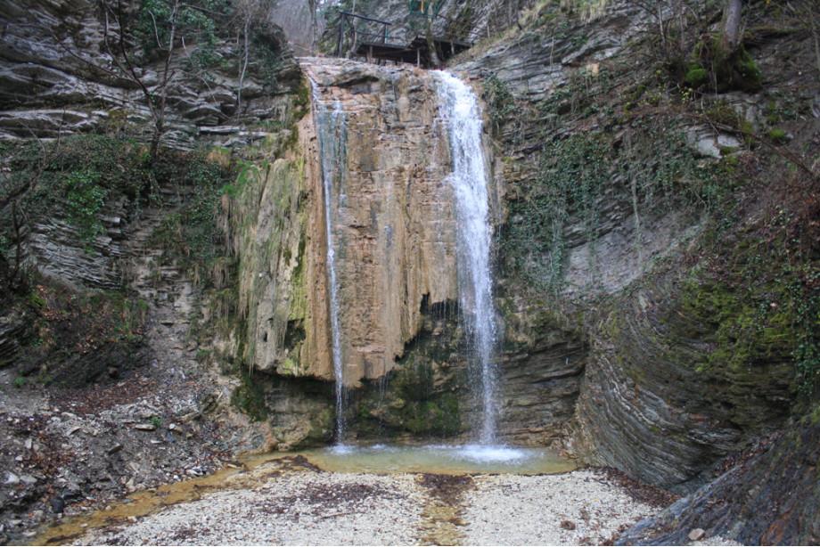 Главный Тенгинский водопад