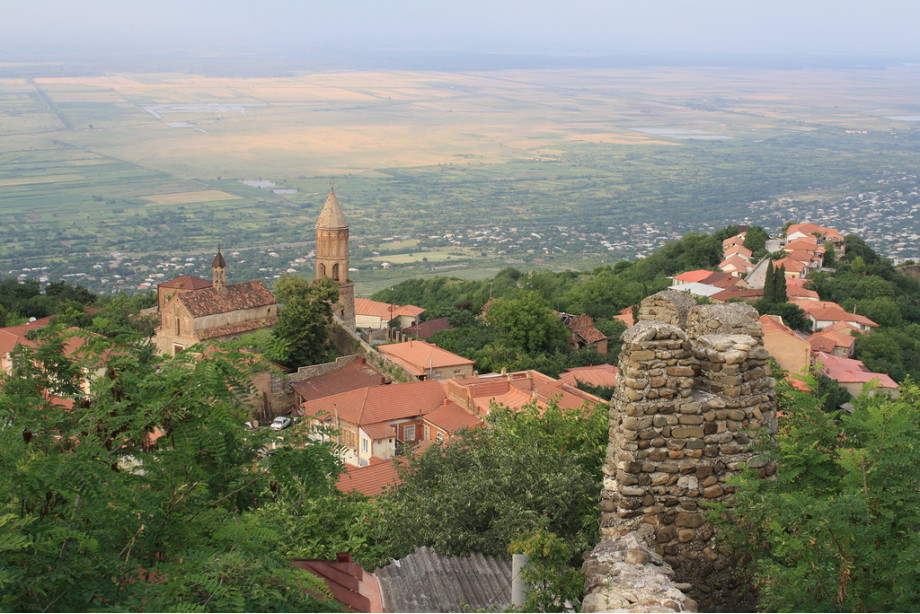Вид на долину из Сигнахи