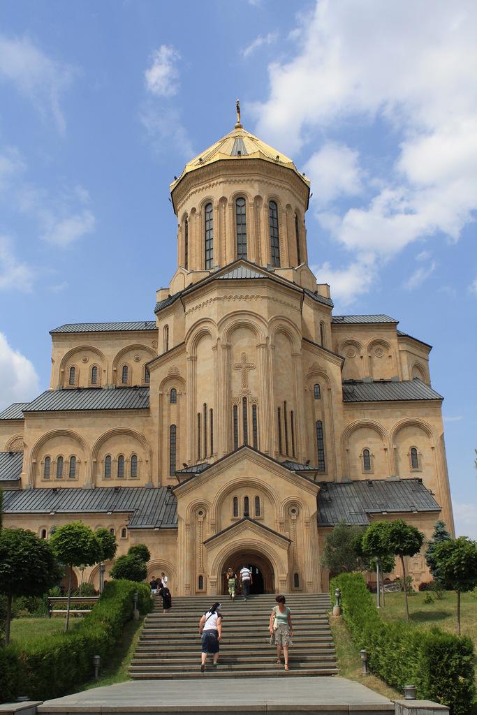 Главный собор Тбилиси, святой троицы