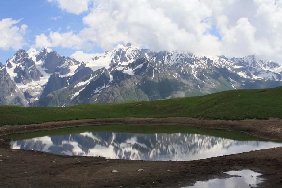 """Озеро Корульди """"Верхняя Сванетия"""""""
