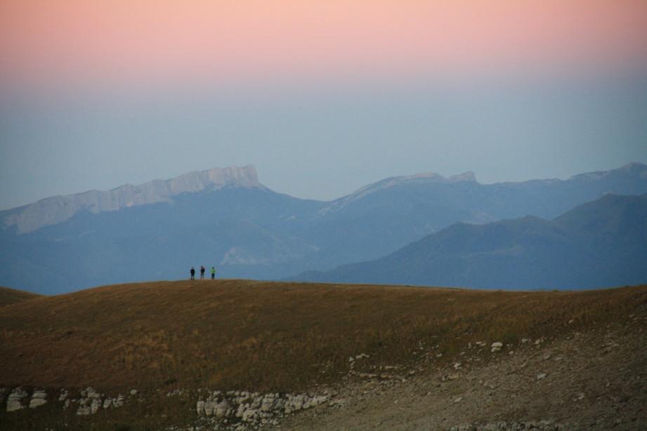 Вид на закате