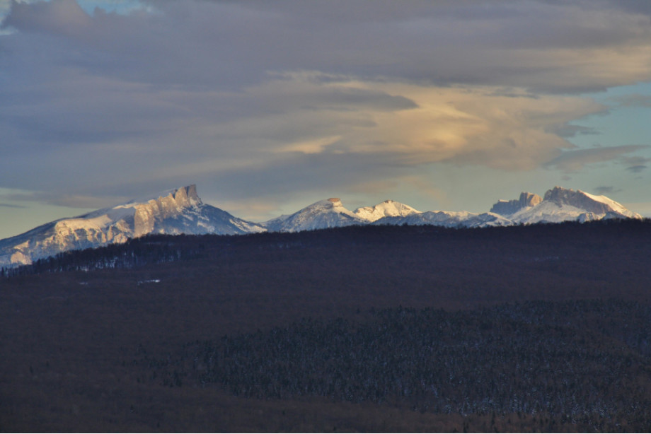 Вид на Тхачи