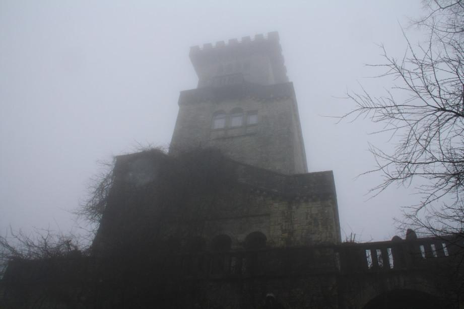 Крепость на г.Ахун