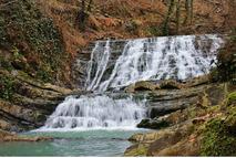 Агурские и Змейковские водопады