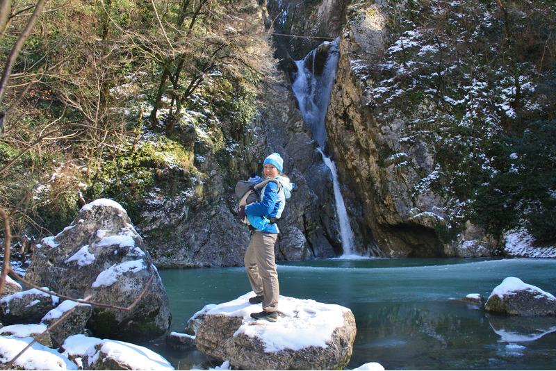 Второй Агурский водопад.