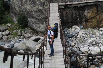 По пути на ледник Чалаади