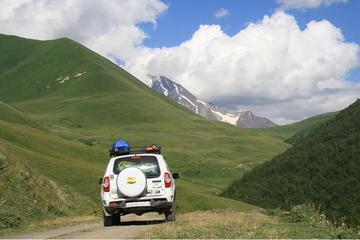 Дорога на перевал Загар