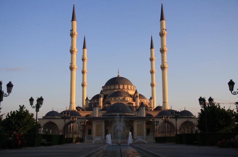 Мечеть имени Ахмата Кадырова.
