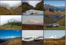 Былое. Наше первое путешествие по Кавказу, 2009 год.
