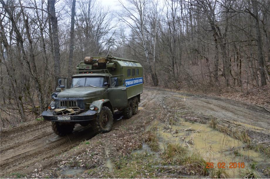 Эвакуация УАЗа из Папайской анамалии 23-28 02.2016г.